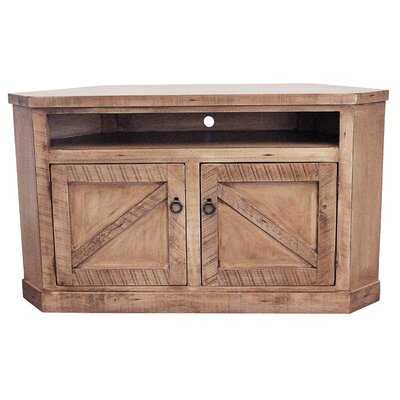 """Bordeaux Solid Wood Corner TV Stand for TVs up to 58"""" - Wayfair"""