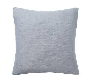Soft Cotton Shams, Euro, Blue - Pottery Barn