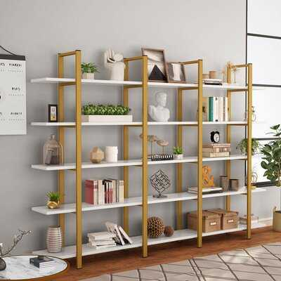 Spinks Geometric Bookcase - Wayfair