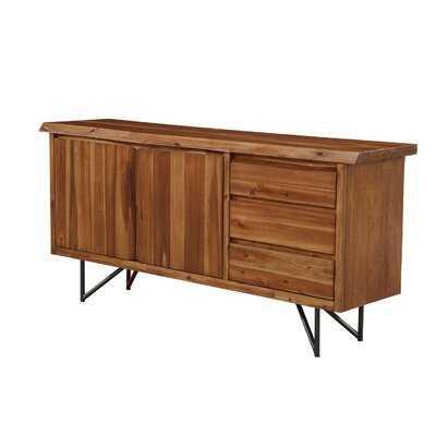"""Winschoten 67"""" Wide 3 Drawer Buffet Table - AllModern"""