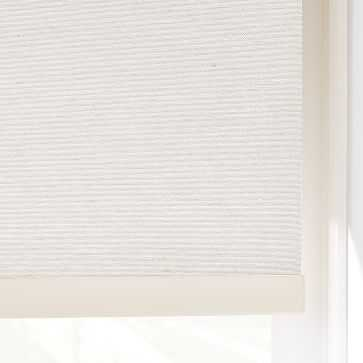 "Woven Cordless Roller Shades, Whisper White, 34""x48"" - West Elm"