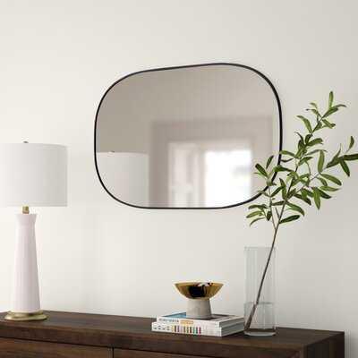 Stuart Edged Frame Beveled Wall Mirror - Wayfair