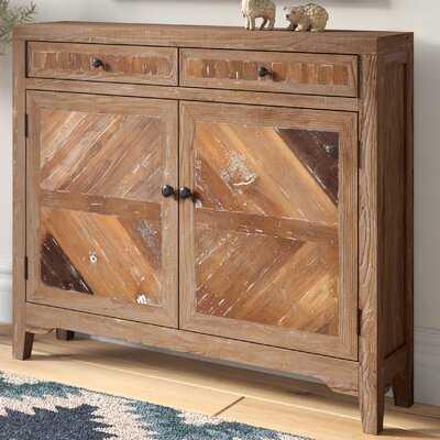 Kaspar Reclaimed Wood Console Cabinet - Wayfair