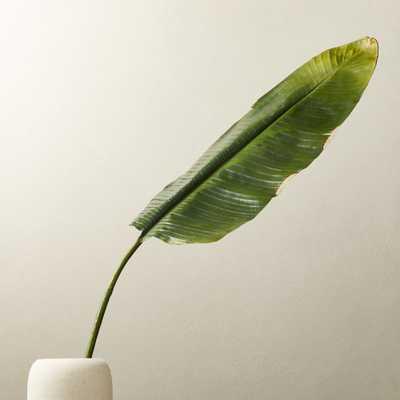 "Faux Banana Leaf 79"" - CB2"