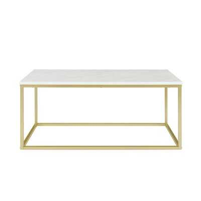Dorian Frame Coffee Table - Birch Lane