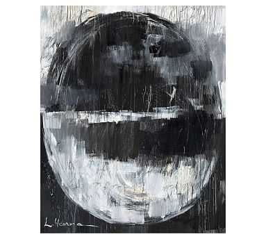 """Our Event Horizon Canvas by Lauren Herrera, Large, 36"""" x 46"""" - Pottery Barn"""