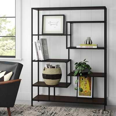 Leela Geometric Bookcase - AllModern