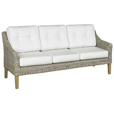 Eaglin Patio Sofa with Cushions - Wayfair
