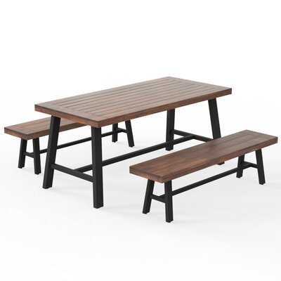 3 Piece Patio Dining Set - Wayfair