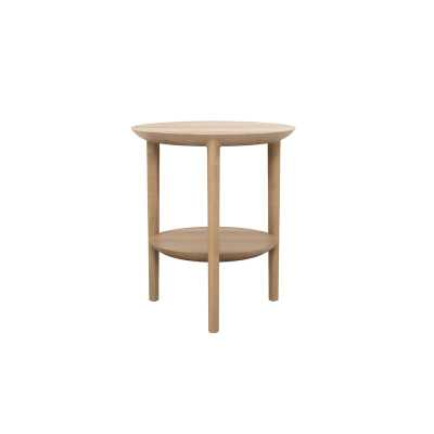 Ethnicraft Bok End Table Color: Natural Oak - Perigold