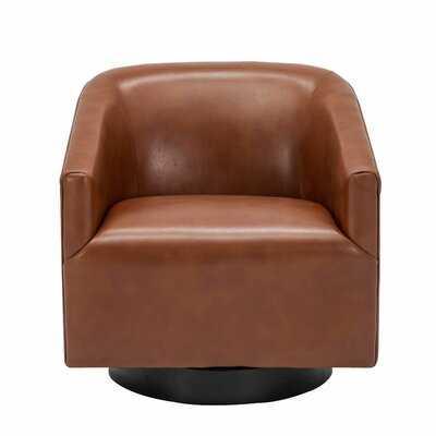 "Mcintyre Swivel 22.75"" W Barrel Chair - AllModern"