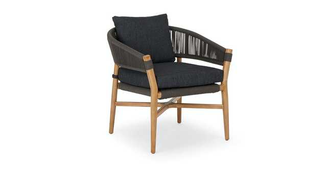 Makali Slate Gray Lounge Chair - Article