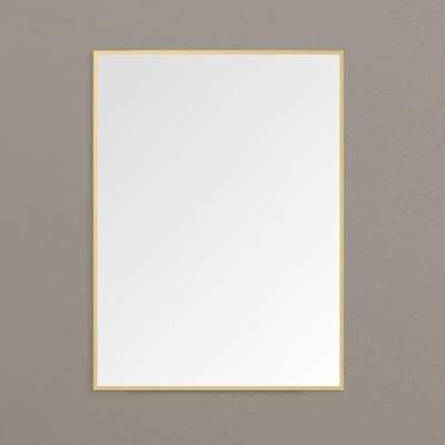 Jolyn Aluminum Modern Accent Mirror - Wayfair