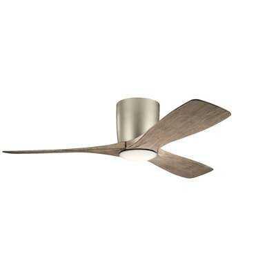 """48"""" Mcgrew 3 Blade LED Ceiling Fan, Light Kit Included - Birch Lane"""