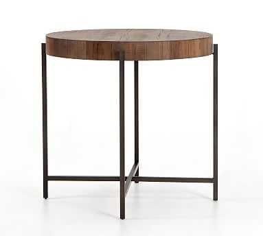 "Fargo Counter Height Table, Natural Brown, 38""D - Pottery Barn"