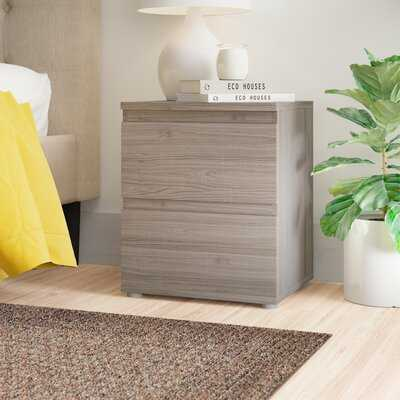 Karev 2 Drawer Nightstand - Wayfair