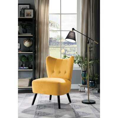 Easterling Velvet Slipper Chair - Wayfair