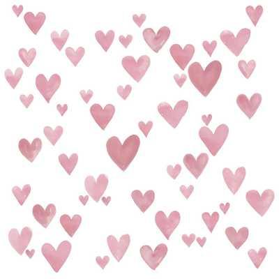 WallPOPs Pink Mi Amor Wall Decal - Home Depot