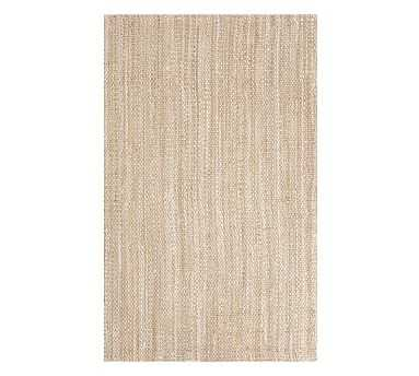 Newland Jute Rug, Heathered Natural, 8 x 10' - Pottery Barn