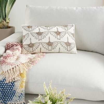 Rectangular Cotton Pillow Cover & Insert - Wayfair
