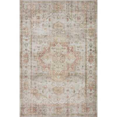 "Loloi II Kinvara Collection HEI-02 Sage / Multi, Oriental Area Rug 7'-6"" X 9'-6"" - Wayfair"