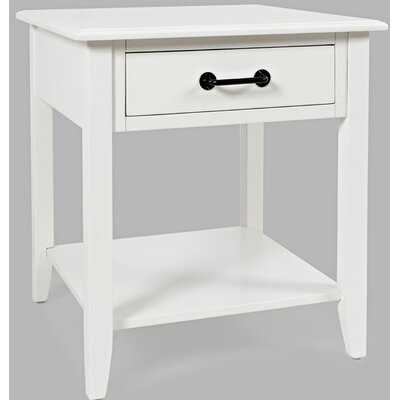 Gallaher End Table with Storage - Wayfair