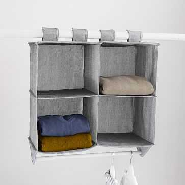 Soft Closet Storage - Hanging Closet Organizer - West Elm