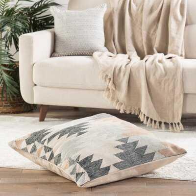 Zion Geometric 32'' Floor Pillow Cover - Wayfair