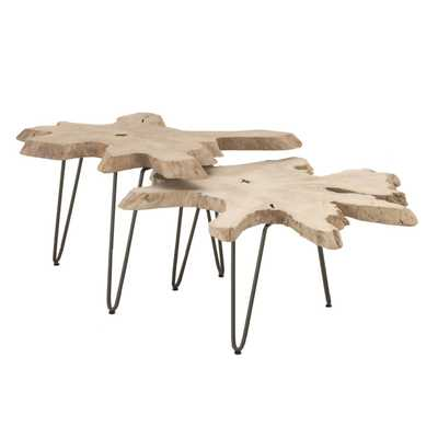 Drift Nesting Coffee Table - Alder House