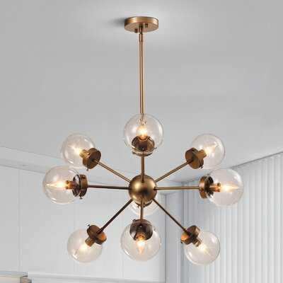 Luce 9 - Light Sputnik Sphere Chandelier - Wayfair