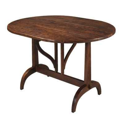 MacKenzie-Dow Coaching Drop Leaf Dining Table - Perigold