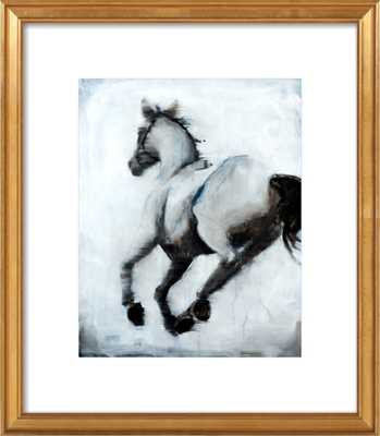 how i lost my way (horse xiv) by Lee Cline for Artfully Walls - Artfully Walls