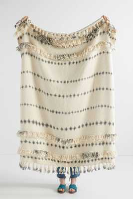 Fringed Sierra Throw Blanket - Anthropologie