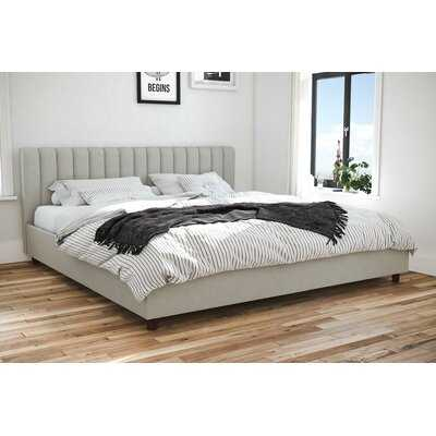 Brittany Upholstered Platform Bed - Wayfair
