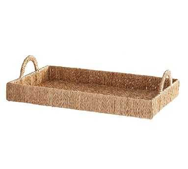 Seagrass Serving Tray - Pottery Barn
