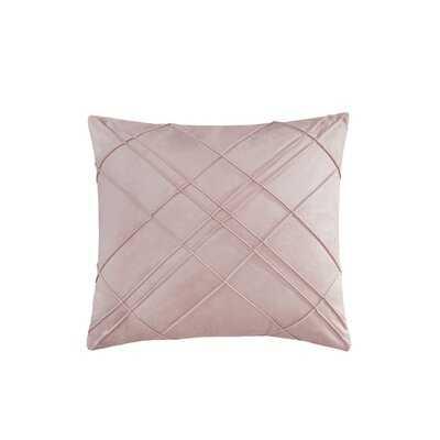 Naomi Square Velvet Pillow Cover and Insert - Wayfair