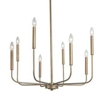 Earhart 8 - Light Candle Style Empire Chandelier - Wayfair