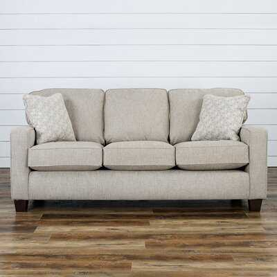 """77"""" Wide Square Arm Sofa - Wayfair"""