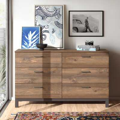 Wilma 6 Drawer Double Dresser - AllModern
