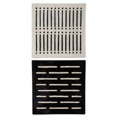 2 Piece Domino Effect Wall Décor Set - AllModern