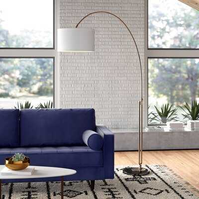 "Lorena 84"" Arched Floor Lamp - AllModern"