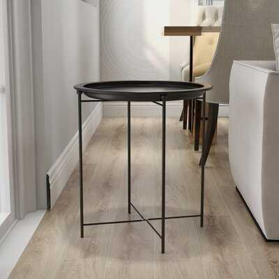 Chaia Tray Top Cross Legs End Table - Wayfair