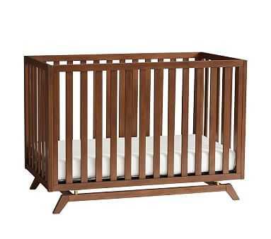 Lennox Convertible Crib, Crib & Lullaby Crib Mattress Set - Pottery Barn Kids