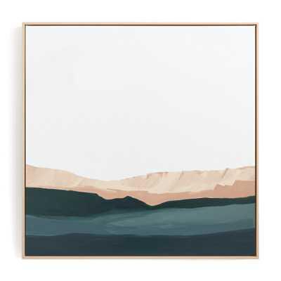 Santa Cruz Seascape #2 Art Print - Minted