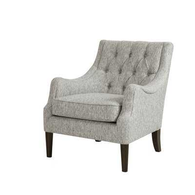 """Galesville 29.25"""" Wide Tufted Polyester Wingback Chair - Wayfair"""