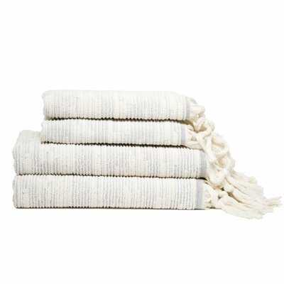 Nilgun Maine 4 Piece Turkish Cotton Towel Set - AllModern