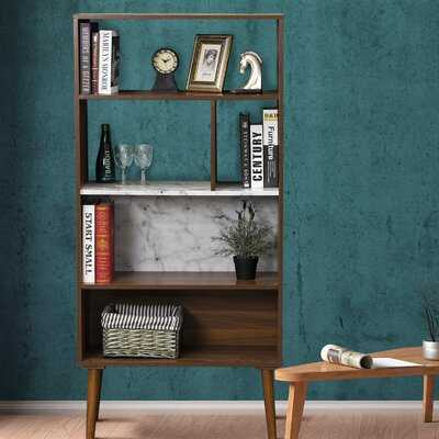 Placencia 58.27'' H x 27.95'' W Standard Bookcase - Wayfair