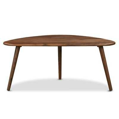 Grenshaw Solid Wood 3 Legs Coffee Table - Wayfair