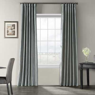 Fairburn Synthetic Solid Room Darkening Thermal Rod Pocket Single Curtain Panel - AllModern