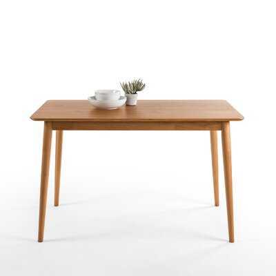 Goodyear Mid Century Modern Solid Wood Dining Table - AllModern